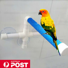 Bird Perch Stand Parrot Play Paw Grinding Stands Rack Shower Bath Platform Toy