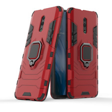 Fits OPPO Reno Shockproof Case Solid Hybrid Armor Stand Bag Shell+360° Ring