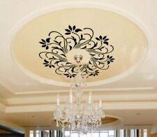 60x60cm Beautiful Flower Ceiling  Nature Vinyl Wall Paper Decal Art Sticker Q178