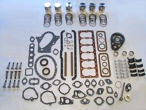 Basic Engine Rebuild Kit 1949-1954 Plymouth 218 230 pistons lifters bearings