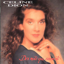Des Mots Qui Sonnent by Céline Dion (CD, May-1992, Sony/Columbia)