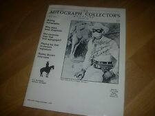 The AUTOGRAPH  Collectors Magazine  Apr / May 1990  Great for Reference Vol 5 #3