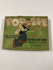Popeye Playing Card Game Complete 1934
