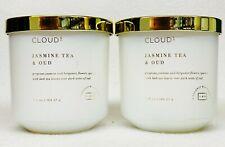 2 Labcandles Lab Cloud 9 Nine JASMINE TEA & OUD 6.5 oz Coconut Wax Blend Candle
