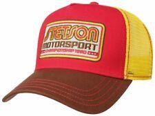 STETSON Trucker Cap Baseball Mesh Snap Cap Motorsport II 68 New
