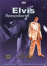 ELVIS REMEMBERED - UNIEKE DOCUMENTAIRE - GESEALED - DVD