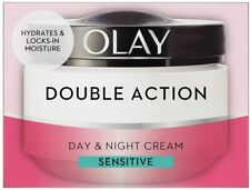Olay Double Action Moisturiser Day and Night Cream Face Care Hidration, 50 ml