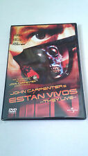 "DVD ""ESTAN VIVOS"" COMO NUEVA JOHN CARPENTER RODDY PIPER MEG FOSTER"