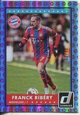 Donruss Soccer 2015 Red Parallel Base Card [49] #42 Franck Ribery