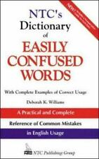 NTC's Dictionary of Easily Confused Words (National Textbook Language Dictionari