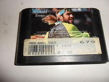 Sega Mega Drive  Andre Agassi Tennis