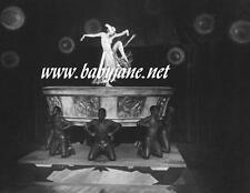 001 METROPOLIS BRIGITTE HELM SEMI NUDE DANCING DECO PHOTO
