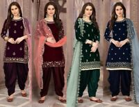 Salwar Kameez Patiala Punjabi Indian Designer Pakistani Suit Party Wedding Dress