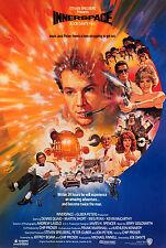 INNERSPACE (1987) ORIGINAL INTERNATIONAL VERSION B MOVIE POSTER  -  ROLLED