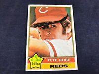 Z3-28 BASEBALL CARD - PETE ROSE CINCINNATI REDS -1976 TOPPS - CARD #240