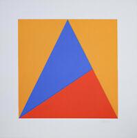 Winfred Gaul (1928 - 2003) - Komposition - Siebdruck - Signiert - 1970