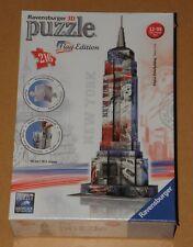 3d puzzle empire state building de nueva york Flag Edition collage Ravensburger nuevo