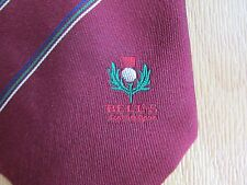 BELLS Whisky SCOTTISH Golf Open Tourrnament Tie by Toye Kenning & Spencer