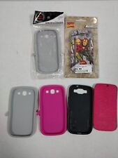 ** Lot of 6 Phone cases for Samsung Galaxy S3 ~ USED ~ AS IS