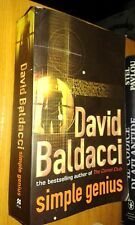 DAVID BALDACCI-SIMPLE GENIUS-PAN BOOKS- IN lLINGUA  INGLESE-SR23