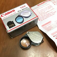 Canon Ultra Loupe HD 10x Pro Series Japan Jewelry Gem Magnifying Glass