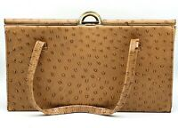 1950's Faux leather Elbief England crocodile skin handbag