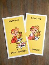 """BELGIQUE 5 € EURO 2013 """"75 Ans Spirou"""" Colorée *QP* Quality Proof - ARGENT"""