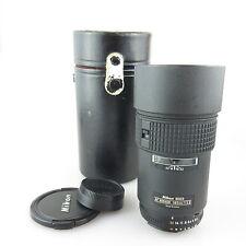 Nikon AF Nikkor 180mm 1:2 .8 obiettivo/Lens con case cl-38
