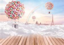 Balloons Photography Backdrops Children Photo Studio Background Vinyl 7x5FT QX03