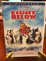 Disney Eight Below (DVD, 2006, Widescreen) Paul Walker, Bruce G/Mfg. Sealed