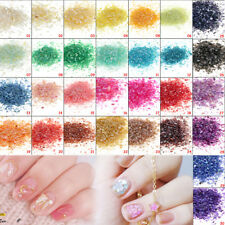 30 Color 10g Irregular Natural Crushed Shell Powder For Nail Art DIY Decoration