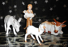 Rosenthal Studio-Haus Krippenfiguren handbemalt  4 tlg.  NEUWARE
