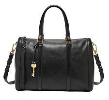 FOSSIL Kendall Large Satchel Handtasche Umhängetasche Tasche Black Schwarz Neu
