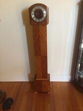 A Original Art Deco Grandmother Clock