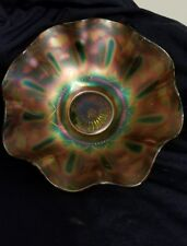 Northwood Ribbon Carnival Glass Dish