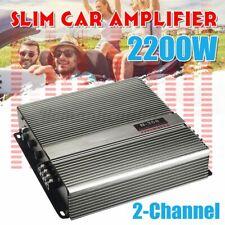2200W N368 HiFi Amplifier 2-Kanal Auto Verstärker Subwoofer Endstufe PKW KFZ Bra