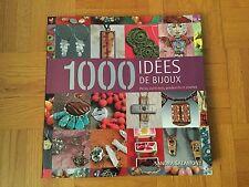 Livre pour 1000 Idées de Bijoux : Perles, Pendentifs et Chaînes, Sandra Salamony