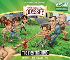 Adventures in Odyssey: The Ties That Bind 58 by AIO Team (2014, CD) New SEALED