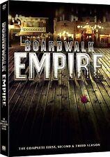 BOARDWALK EMPIRE SEASONS 1-3 COMPLETE DVD BOX SET NEW SEALED SERIES 1 2 3