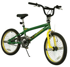 "New Tomy John Deere Heavy Duty 20"" Boy's Freestyle Bicycle"