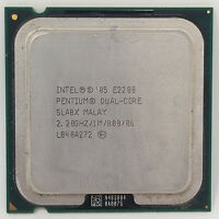 Intel Pentium Dual Core E2200, 2.20GHz, Dual Core Processor, SLA8X