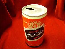Carling Black Label Beer 12 oz. Pull Tab / Carling National Breweries