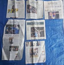 Lot of 6 Los Angeles Times Sports section Lonzo Ball Lamelo Lakers UCLA Chino