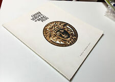 catalog GIANNI VERSACE BY IRVING PENN limited edition from spring/summer 1992