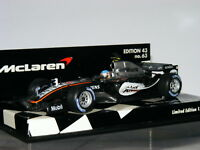 Minichamps McLaren Mercedes MP4/20 Alex Wurz Test Driver 2005 MLC-63 1/43