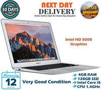 "Apple MacBook Air 13.3"" Intel Core i5 1.4GHz 4GB RAM 128GB SSD A1466 2014 Mojave"