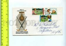 201468 NEW ZEALAND 1971 year Field hockey First Day cover