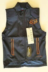 FOX Racing Mens Resistant Cordura Fabric MX/Offroad Legion Vest (NAVY) SMALL