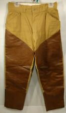 Vintage Ted Williams Sears Roebuck Cotton Reinforced Hunting Outdoor Pants 32x28
