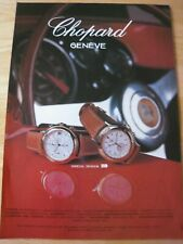 CHOPARD GENEVE 1000 MIGLIA SPONSOR POSTER ADVERT READY TO FRAME A4 SIZE FILE L